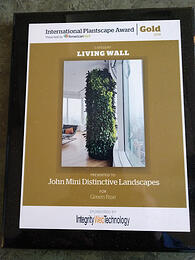 Green wall award