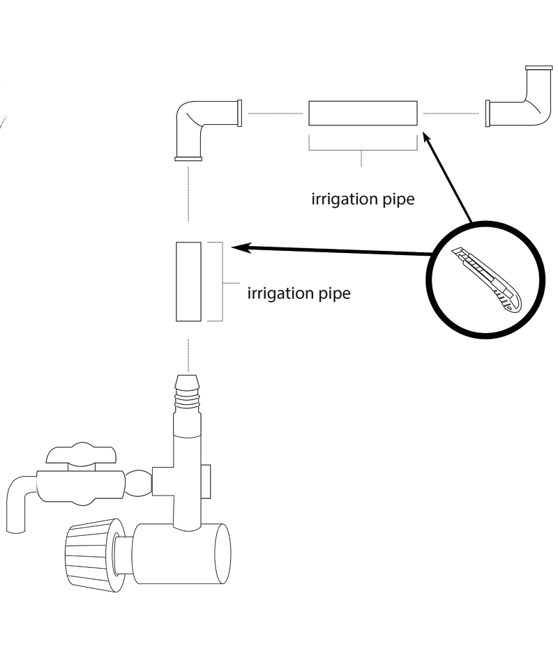 Diagram of the pump assembly