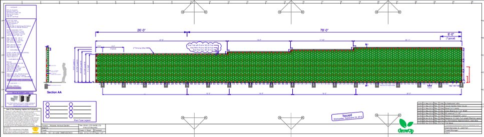 Design Layout of Greenwall