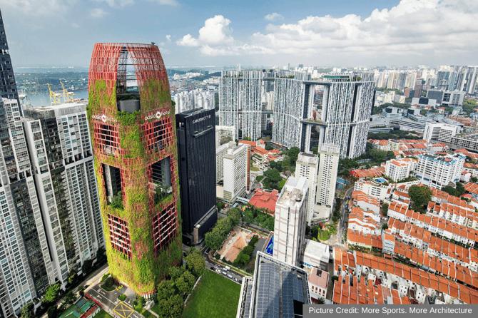 The Oasia Hotel in Singapore 1