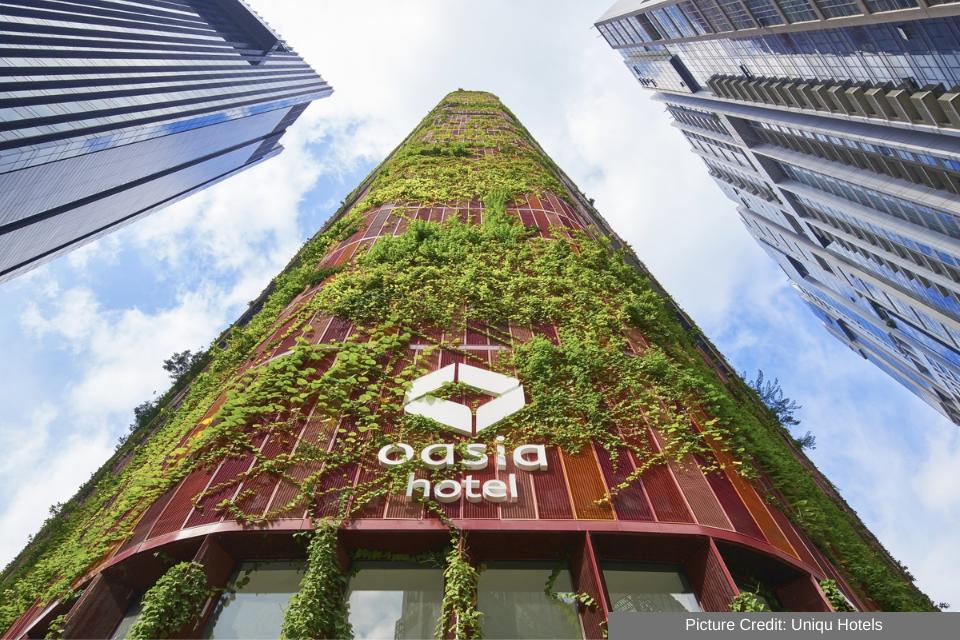 The Oasia Hotel in Singapore 2
