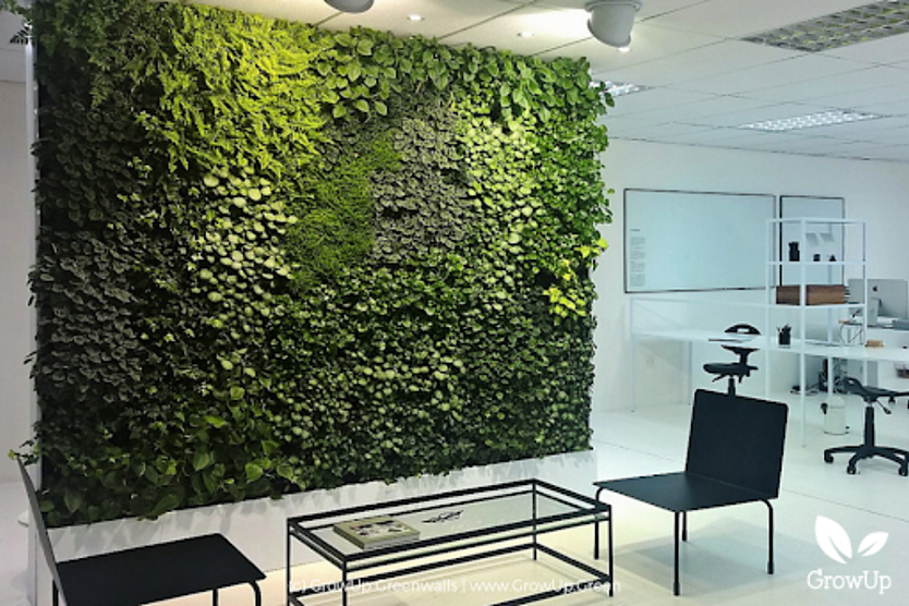 how to choose the right lighting for your greenwall (1)